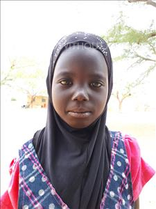 Choose a child to sponsor, like this little girl from Mbella, Mariama age 6