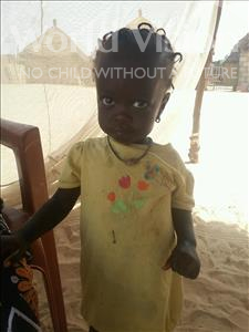 Maimouna, aged 1, from Senegal, is hoping for a World Vision sponsor