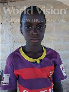 Leon Ngor, aged 9, from Senegal, is hoping for a World Vision sponsor