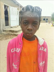 Choose a child to sponsor, like this little girl from Loul, Diouma age 9