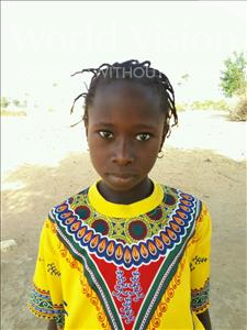 Choose a child to sponsor, like this little girl from Loul, Seynabou age 10