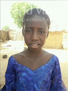 Seynabou, aged 10, from Senegal, is hoping for a World Vision sponsor