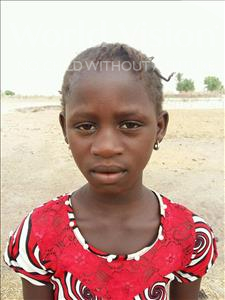 Choose a child to sponsor, like this little girl from Loul, Daba age 10
