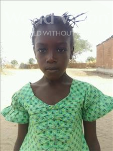 Choose a child to sponsor, like this little girl from Loul, Veronique Ndeo age 8