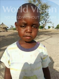 Moussa, aged 3, from Senegal, is hoping for a World Vision sponsor