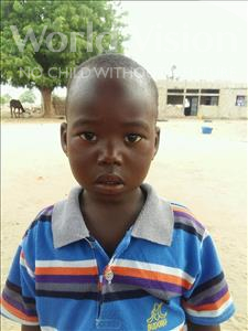 Choose a child to sponsor, like this little boy from Loul, Ousmane age 3