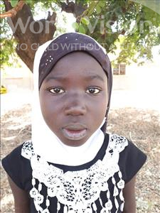 Choose a child to sponsor, like this little girl from Loul, Mariama age 11