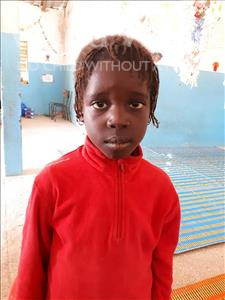 Choose a child to sponsor, like this little girl from Loul, Sanou age 8