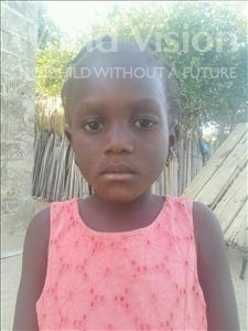 Fatou, aged 5, from Senegal, is hoping for a World Vision sponsor
