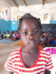 Choose a child to sponsor, like this little girl from Loul, Aida age 3