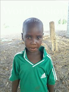 Choose a child to sponsor, like this little boy from Loul, Ousmane Lassiga age 5