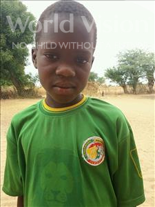 Choose a child to sponsor, like this little boy from Loul, Pierre Alain age 9