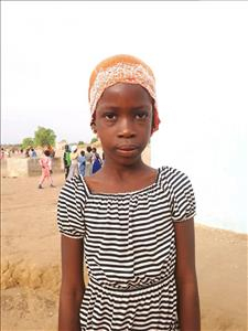 Choose a child to sponsor, like this little girl from Loul, Aissatou age 7