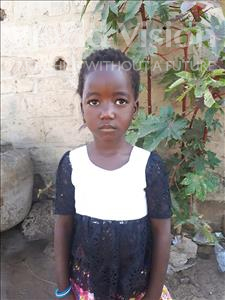 Choose a child to sponsor, like this little girl from Loul, Khady Boule age 3