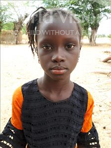 Choose a child to sponsor, like this little girl from Loul, Sophie age 7