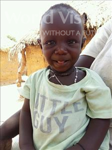 Choose a child to sponsor, like this little boy from Loul, Albert Moussa age 1