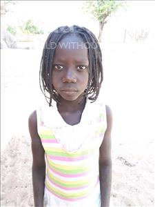 Choose a child to sponsor, like this little girl from Loul, Yangor Margo age 8