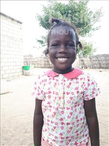 Choose a child to sponsor, like this little girl from Loul, Clarice Guignane age 4