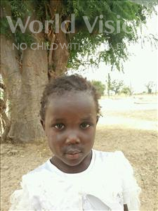 Simone Victorine, aged 3, from Senegal, is hoping for a World Vision sponsor