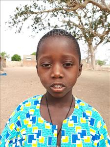 Choose a child to sponsor, like this little boy from Loul, Donato Diomaye age 6