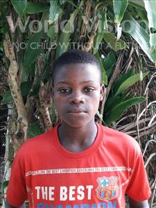 Musa, aged 11, from Sierra Leone, is hoping for a World Vision sponsor