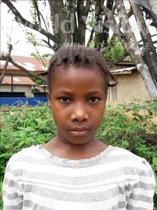 Choose a child to sponsor, like this little girl from Jong, Jeneba age 8