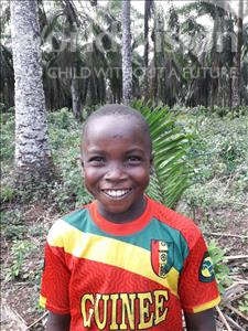 Choose a child to sponsor, like this little boy from Jong, Alusine age 10