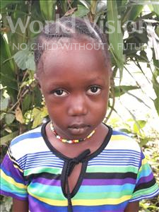 Choose a child to sponsor, like this little girl from Jong, Betty age 6