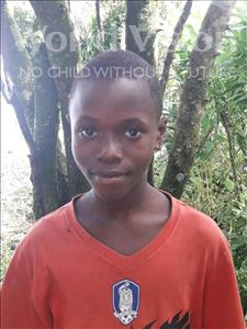 Choose a child to sponsor, like this little boy from Jong, Abu age 13