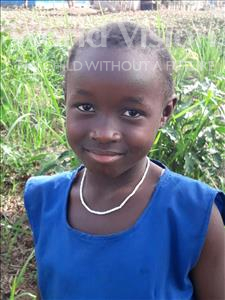 Choose a child to sponsor, like this little girl from Jong, Amie age 7