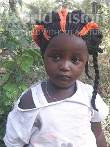 Elizabeth, aged 3, from Sierra Leone, is hoping for a World Vision sponsor