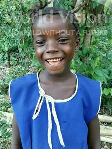 Saffie, aged 3, from Sierra Leone, is hoping for a World Vision sponsor