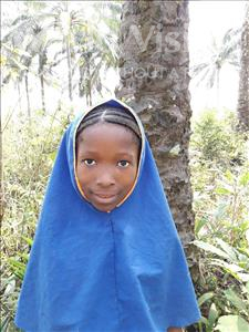Choose a child to sponsor, like this little girl from Jong, Jeneba age 9