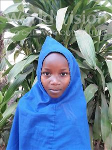 Choose a child to sponsor, like this little girl from Jong, Fatima age 6