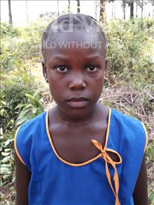 Choose a child to sponsor, like this little girl from Jong, Salamatu age 7