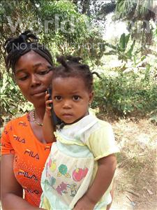 Choose a child to sponsor, like this little girl from Imperi, Sarata age 2