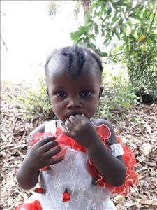 Choose a child to sponsor, like this little girl from Imperi, Iye age 2
