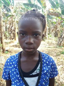 Agiatu, aged 8, from Sierra Leone, is hoping for a World Vision sponsor