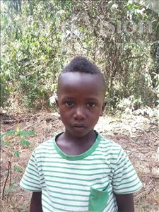 Choose a child to sponsor, like this little boy from Imperi, Micheal age 3