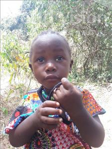 Choose a child to sponsor, like this little girl from Imperi, Wusanatu age 2