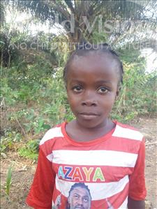 Choose a child to sponsor, like this little girl from Imperi, Adama age 6