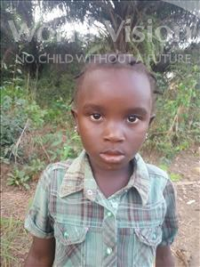 Choose a child to sponsor, like this little girl from Imperi, Rukiatu age 7