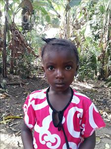 Massah, aged 5, from Sierra Leone, is hoping for a World Vision sponsor
