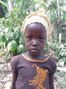 Choose a child to sponsor, like this little girl from Imperi, Fatmata age 5