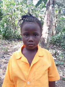 Choose a child to sponsor, like this little girl from Imperi, Umu age 5