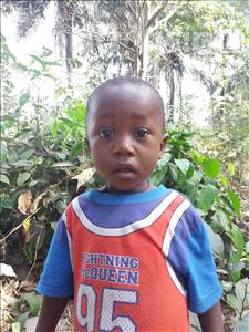 Choose a child to sponsor, like this little boy from Imperi, Abdulai age 2