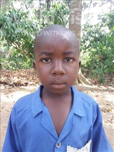 Choose a child to sponsor, like this little boy from Imperi, Lowrence K age 6