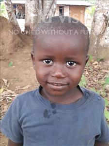 Choose a child to sponsor, like this little boy from Imperi, Solomon age 2