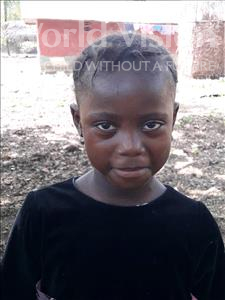 Choose a child to sponsor, like this little girl from Imperi, Mamie age 6