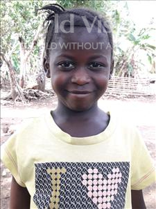 Choose a child to sponsor, like this little girl from Imperi, Mamie age 7